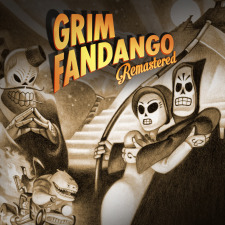 Grim Fandango Remastered logo